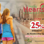 25% Off Membership - Valentines Day Promotion