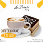 Special Cake & Coffee Promotion